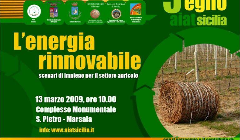 L'energia rinnovabile – scenari di impiego per il settore agricolo 🗓