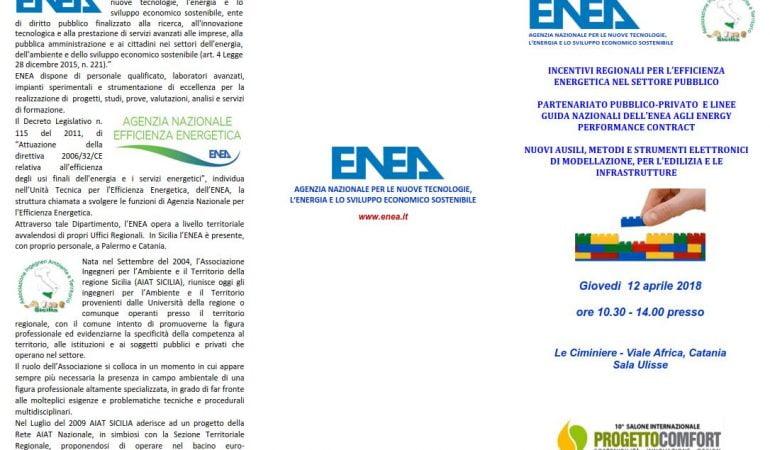 Incentivi Regionali per l'efficienza energetica nel settore pubblico 🗓 🗺