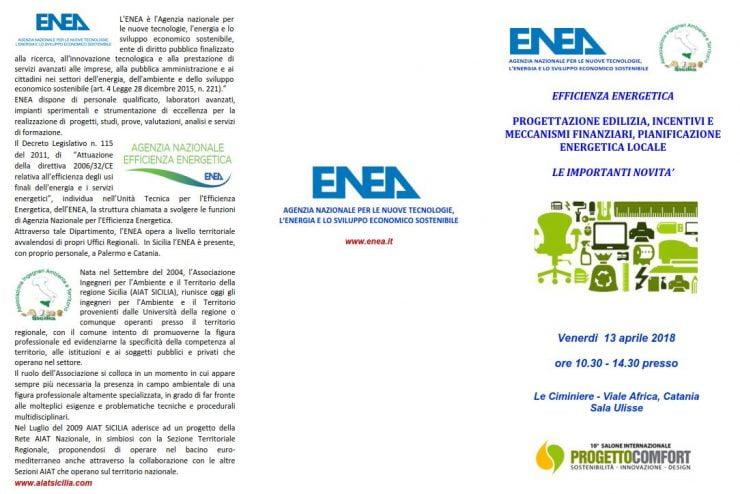 Progettazione  edilizia, incentivi  e meccanismi finanziari, pianificazione energetica locale 🗓 🗺