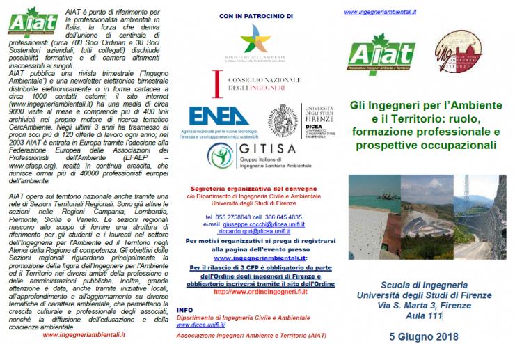 Gli Ingegneri per l'Ambiente e il Territorio: ruolo, formazione professionale e prospettive occupazionali 🗓 🗺